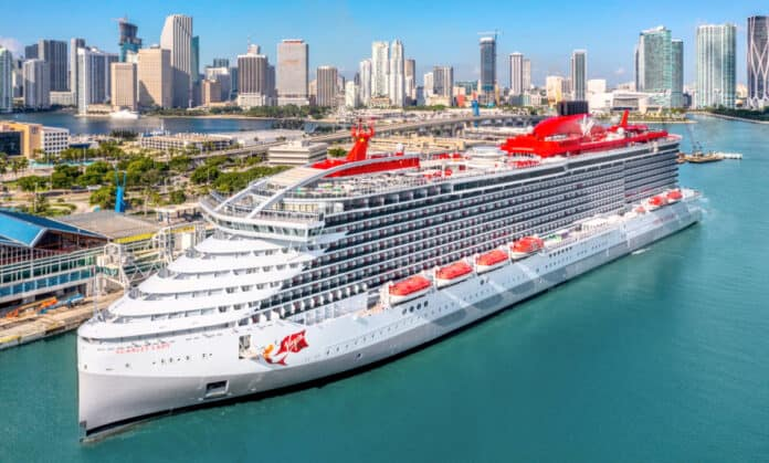 Scarlet Lady Cruise Ship in Miami