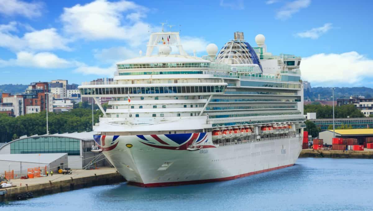 P&O Ventura Cruise Ship